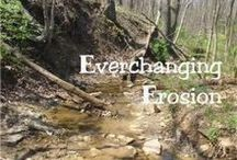 NE - Everchanging Erosion / Here are some great ideas to add to the NaturExplorers Everchanging Erosion study!