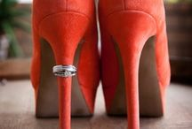 Colored Shoes for Brides from R&R Creative Photography / http://www.randrphotography.com