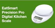 Precision Pro Digital Kitchen Scale / The EatSmart Precision Pro Digital Kitchen Scale is an economically priced multifunction home scale, perfect for everyday tasks from weighing food or ingredients to calculating postage. Along with our Precision Pro, you will also receive a FREE Calorie Factors Book making it easy to achieve goals such as portion control and calorie counting.