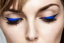 Trending Now: True Blue / Blue as a trending color in makeup (especially on the lids) for 2016!