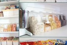 Pantry Food Storage / by Shelley Morris