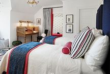 Spaces:: And So To Bed / Beautiful bedrooms, fun designs.