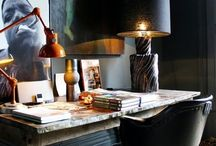 Spaces:: Desk Set / Home offices and interiors.