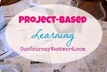 "HS: Project-Based Learning / Adding projects to learning time is an awesome way to make the lessons personal and get them to ""stick.""   / by Our Journey Westward"