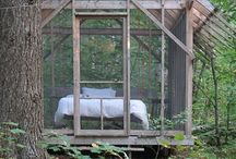 Spaces:: Screen Stars / Porches and screened porches.