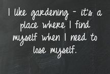 Garden Girl / How does your garden grow? / by Tori Tait :: Thoughtfully Simple