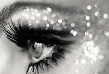 Sparkle & Dazzle NYE / Dazzling and sparkling makeup looks for New Year's Eve.