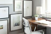 gallery walls / making use of the walls
