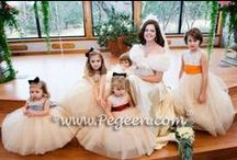 Multi Color Flower Girl Dresses & Weddings / A Rainbow of Colors! More about flower girls, flower girl dresses and little girls flower girl dresses - Pegeen flower girl dresses, custom flower girl dresses, couture silk flower girl dresses in a myriad of colors. Multi-color decor and attire, cakes, flowers, and more. Pegeen.com is a manufacturer of flower girl dresses & boys suits - Infants to Plus Size. 200+ colors in Silk. Headquartered in Orlando FL .. 1 mile from Disney!! 407.928.2377