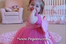 Hot Pink Flower Girl Dresses & Weddings / Hot Pink flower girls, flower girl dresses and little girls flower girl dresses - Pegeen flower girl dresses, custom hot pink flower girl dresses, couture silk flower girl dresses in hot pink, hot pink wedding themes, hot pink cakes, hot pink wedding jewelry - just about anything hot pink you can think of for a bride! Pegeen.com is a manufacturer of flower girl dresses & boys suits - Infants to Plus Size. 200+ colors in Silk. Headquartered in Orlando FL .. only 1 mile from Disney!! 407.928.2377