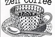 ZENTANGLE PATTERNS / patterns DIY