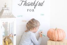 Thanksgiving / Fun ways to give thanks for all our blessings! Pilgrims, turkeys, cornucopias and all the yummiest food to celebrate with!   / by Pretty Providence