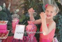 Kids Tables - Wedding / what are the trends in special tables for your wedding.... here we give you some great idea. Pegeen.com is a manufacturer of flower girl dresses & boys suits - Infants to Plus Size. 200+ colors in Silk. Headquartered in Orlando FL .. 1 mile from Disney!! 407.928.2377