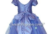 Periwinkle Flower Girl Dresses / Neither purple nor blue, periwinkle weddings are beautiful and so are our flower girl dresses. Pegeen.com is a manufacturer of flower girl dresses & boys suits - Infants to Plus Size. 200+ colors in Silk. Headquartered in Orlando FL .. 1 mile from Disney!! 407.928.2377
