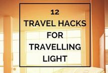 Travel and Packing Tips / How to pack lighter, what to pack, how to stay safe on the road  - I got you covered.