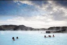 Iceland Travel / Traveling Iceland is a dream. It's full of elves, waterfalls and magic. And the Blue Lagoon.