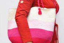 CROCHET BAGS and baskets/purses (free patterns) / I always look before I pin if it's really a free pattern, but forgive me if there might be one or two that are not