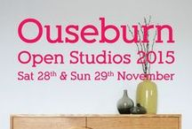 Ouseburn Open Studios 2015 / The Ouseburn Valley is the creative heart of Newcastle. On the last weekend of November the Ouseburn Open Studios event sees venues open their doors, offering a unique chance to come and glimpse into the working world of over 200 artists and designer-makers.