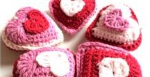 CROCHET HEARTS / free crochet hearts patterns