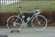 Bianchi l'Eroica / This is the absolutely magnificent Bianchi L'Eroica road bike, released in 2016. A tribute based on the 1952 Bianchi Specialissima, the L'Eroica is designed and manufactured to vintage specifications, making it the only modern bike eligible to compete in Eroica events, in which bikes must otherwise have been manufactured before 1987.  This particular bike is one of just 25 sold to the UK from a very limited production run, and is now in the hands of one very lucky Wheelies.co.uk customer.  / by Wheelies.co.uk