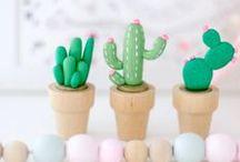 CACTUS / cactus, cactus and more cactus ;) CROCHET, FELT, PAPER, PLANTS, etc.