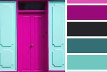 color palette / by Rebecca Hall