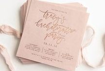 Invitations & Stationary / Invitations and stationary we love
