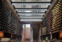 Kitchens wine cellars