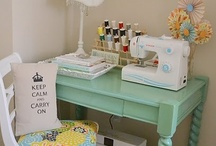 Sewing Space / by So Lovely Julie