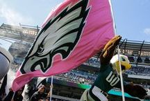 #EaglesTBC / We wear pink to tackle breast cancer. Show your support during Breast Cancer Awareness Month with #EaglesTBC. / by Philadelphia Eagles