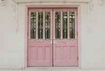 doors // windows // entrances / knock, knock!  let me in. / by Rebecca H
