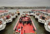 """2014 Viking Christening / We did it again! Viking sailed past its own GUINNESS WORLD RECORD for 'The Most Ships Inaugurated in One Day by One Company"""" with the launch of 18 new ships! / by Viking Cruises"""