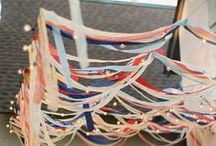 Independence Day / Crafts, invitations and party ideas to celebrate the 4th of July.