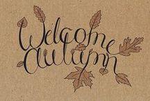 seasons: autumn / by Rebecca H