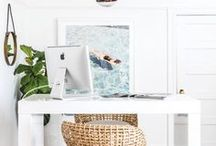 Office Chic. / Ways to decorate your office space