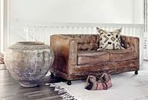 the home: interior inspiration. / room and styles that inspire. / by Rebecca H