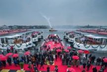2015 Viking Christening / Marking another year of impressive growth, Viking River Cruises welcomed the newest additions to its fleet of river cruise vessels at a simultaneous christening ceremony in Amsterdam and Rostock, Germany. / by Viking Cruises