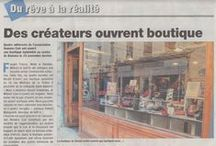 La presse en parle / des reportages, des articles qui parlent de notre Atelier Soft'in et de la chaussure coupée, piquée et montée à Romans sur Isère
