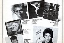 Covers / only about David Bowie (°1947-†2016)