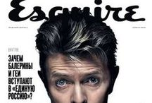 Cover magazine / only about David Bowie (°1947-†2016)