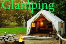 Glamping / How about a glamping staycation?