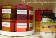 Organize ❋ Kitchen & Pantry / Tips and tricks for creating the most organized kitchen & pantry. / by Queen Bee Coupons