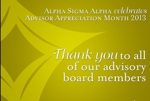 Our volunteers / We tribute to our Alpha Sigma Alpha volunteers - we cannot thank you enough! / by Alpha Sigma Alpha Sorority