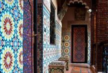 Marrakesh / I was lucky enough to go to #Marrakesh on my honeymoon.  What a sensory overload!  The sights, sounds, and smells, the colour and the culture shock - wow!