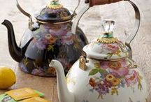 Tea Drinking Accoutrements / by Jeanette Weiner