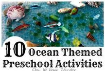 Ocean Preschool Theme / Ocean preschool activities, ocean preschool theme, ocean preschool science, ocean preschool crafts, ocean preschool games, ocean preschool art, ocean preschool lessons, ocean preschool books, ocean preschool songs.