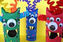 Monsters Preschool Theme / Monsters preschool activities, monsters preschool crafts, monster crafts, monster activities, monster books, teaching monster preschool theme.