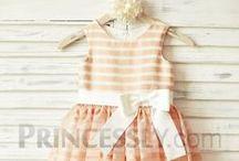Little Girl Dresses for Weddings / Lovely dresses for little girls on weddings as flower girls or guests.