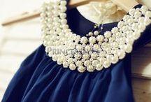 Boho Little Girl Dresses / Bohemian little girl dresses and flower girl dresses for wedding or everyday fashion.