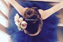 Ruffled Flower Girl Dresses / Flower girl dresses and little girl dresses for wedding with ruffle skirt or features.